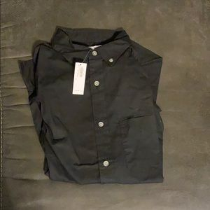 Long-sleeve button down